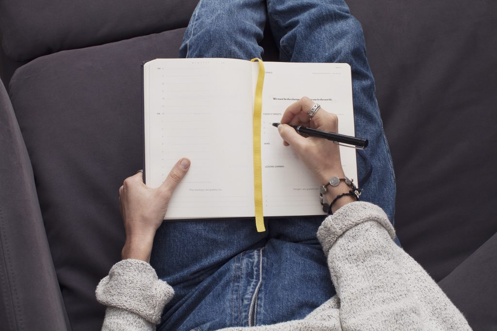 Journaling to trust the universe
